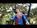 Black Panther & Hulk vs Superman Titan Hero Superhero Full Battle!