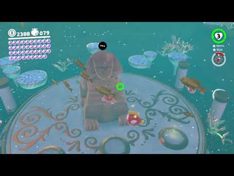 Seaside Kingdom Power Moon 40 - The Sphynx's Undewater Vault