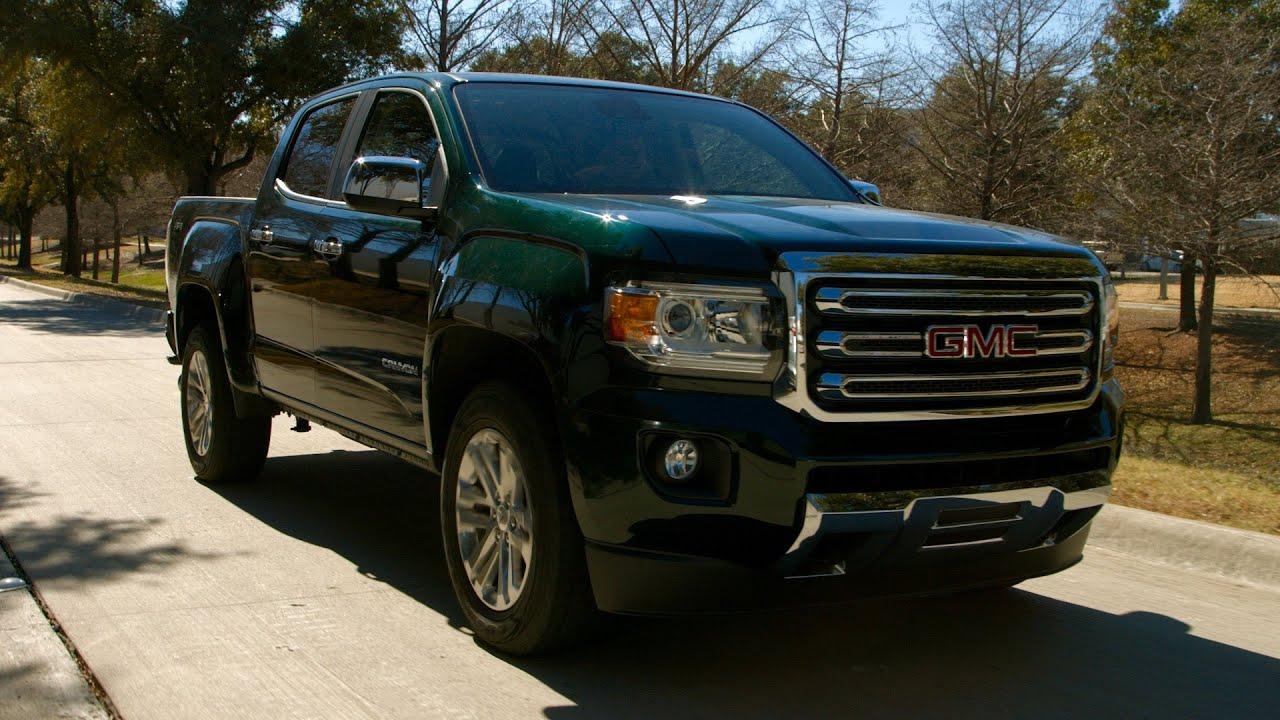 test drive  2016 gmc canyon 4x4 diesel review