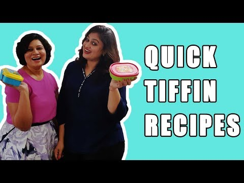 Quick Tiffin Recipes | Picky Eaters | Food Recipes | Lunch Box Recipes | A Classic Mom