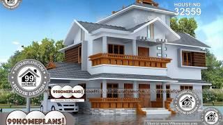 Indian House Design By 99HOMEPLANS COM [ Esp: M085 ]