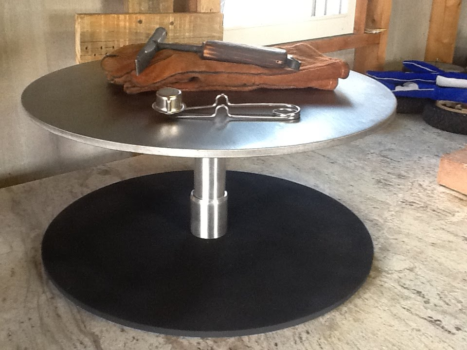 Diy Rotating Welding Table Final Assembly Youtube