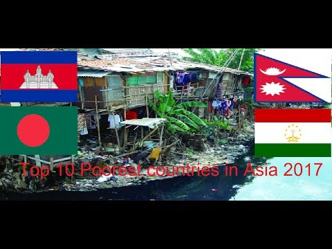 Top Poorest Countries In Asia YouTube - Top 20 poorest country in asia