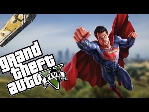 MÜTHİŞ SUPERMAN MODU! - GTA V MODLARI