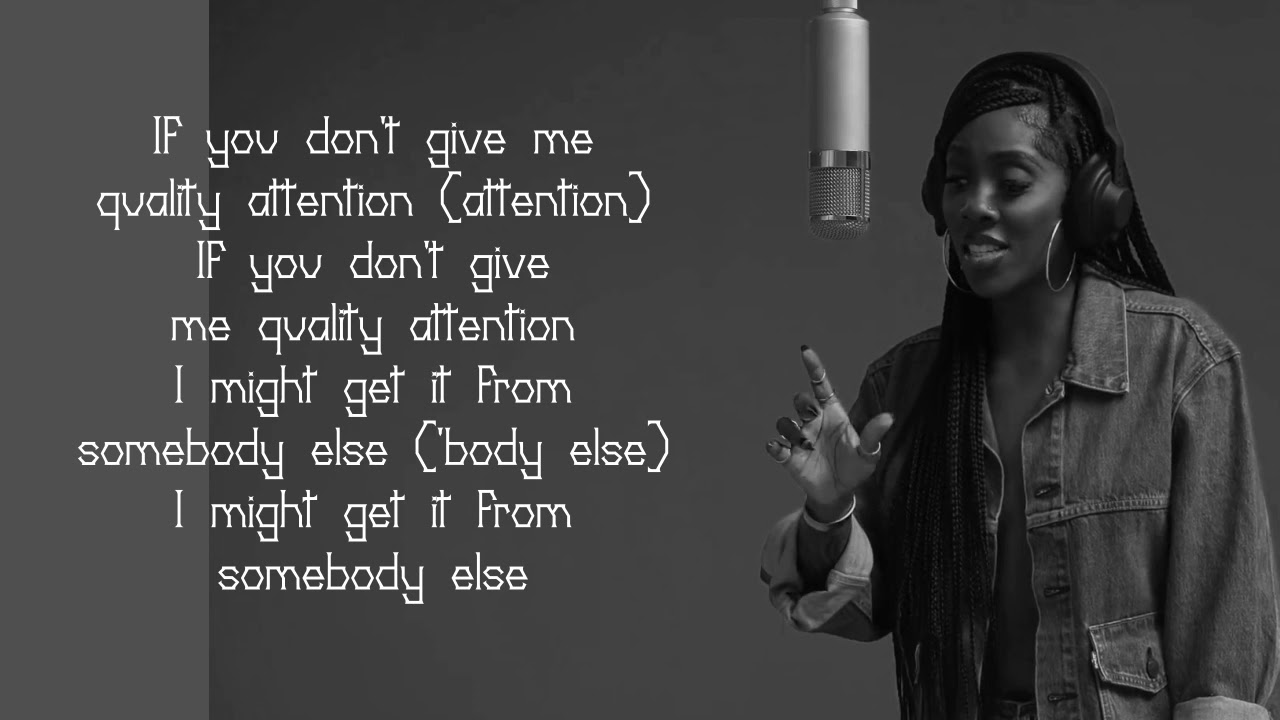 Single people and Tiwa savage attention lyrics video