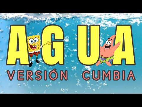AGUA 🌊 VERSIÓN CUMBIA 🎹 EL RODRI 🔥 Cumbia Bob Esponja – REMIX – TIK TOK (Cover – Tainy, J Balvin )