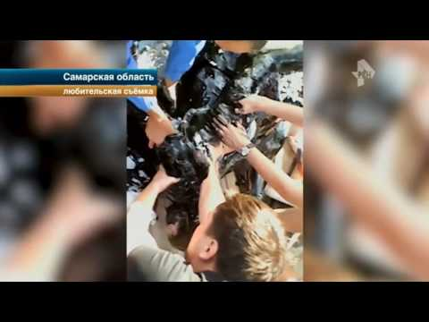 Ребенок провалился в яму с битумом в Самарской области