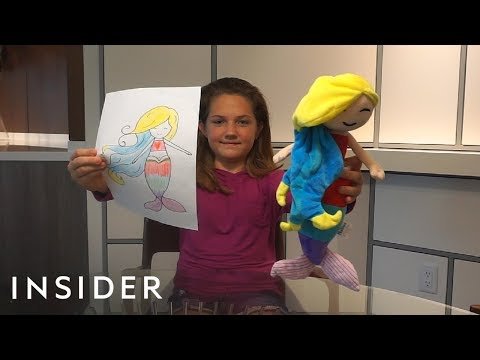 Company Turns Kids' Drawings Into Stuffed Plush Toys