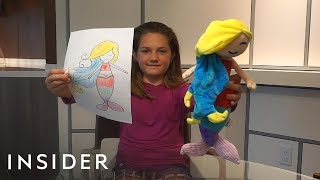 Company Turns Kids' Drawings Into Stuffed Plush Toys
