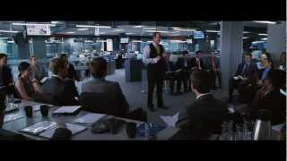 Horrible Bosses- Nick throws Harken through the window