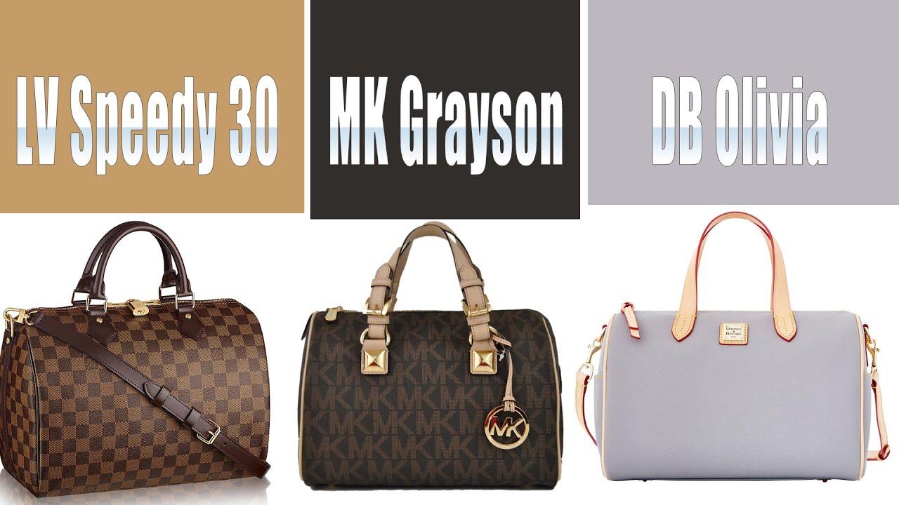 Louis Vuitton Sdy 30 Michael Kors Grayson Dooney Bourke Olivia You