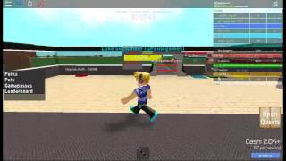 First video of the Serie de (ROBLOX. = D = D