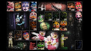 Ultimate Custom Night - Replacing Animatronics (Mod) (Part 1)