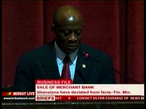 Midday Live: Sale of Merchant - Ghanaians deviate From the fact - Finance Minister - 28/11/201