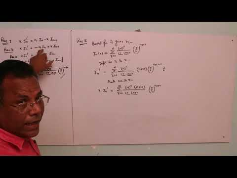 PROBLEMS ON BESSEL FUNCTION
