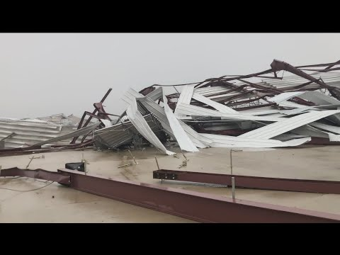 Hammer - Lucas Oil Speedway Severely Damaged By Strong Storms