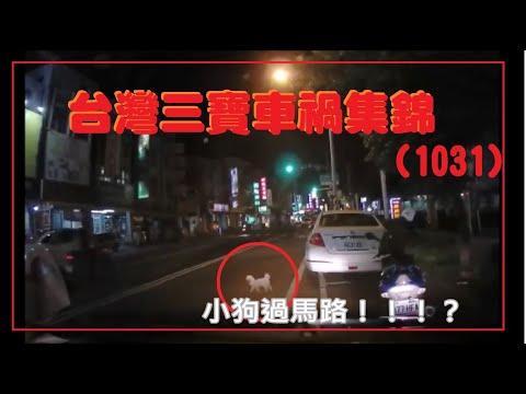 台灣三寶車禍集錦(1031)