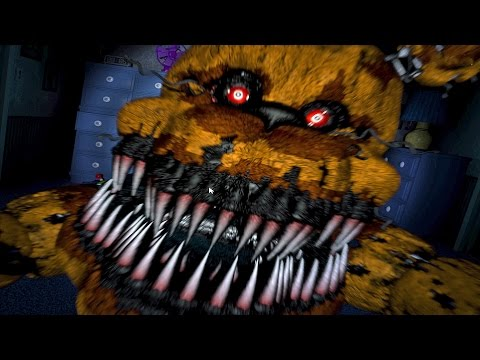 Five Nights At Freddy's 4 FR [Nuit 5] | JUMPSCARE ALL DAY!