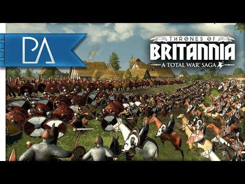 NORMAN INVASION: ENGLAND'S LAST STAND - Thrones of Britannia: Total War Saga Gameplay