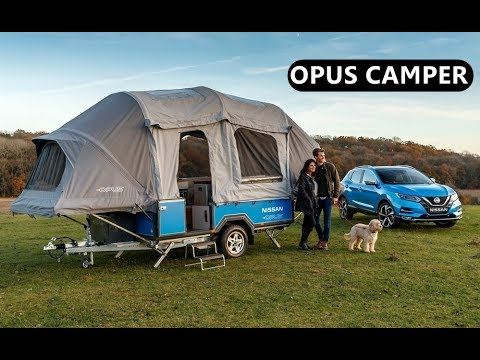 Nissan X Opus Camper In Action Youtube