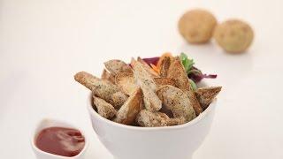 Healthy Potato Wedges