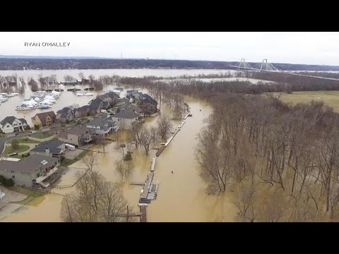 More flooding expected along the Ohio River