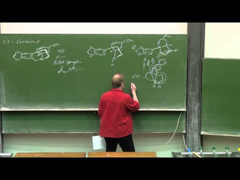 Lecture Designing Organic Syntheses 25 Prof  G  Dyker 220115