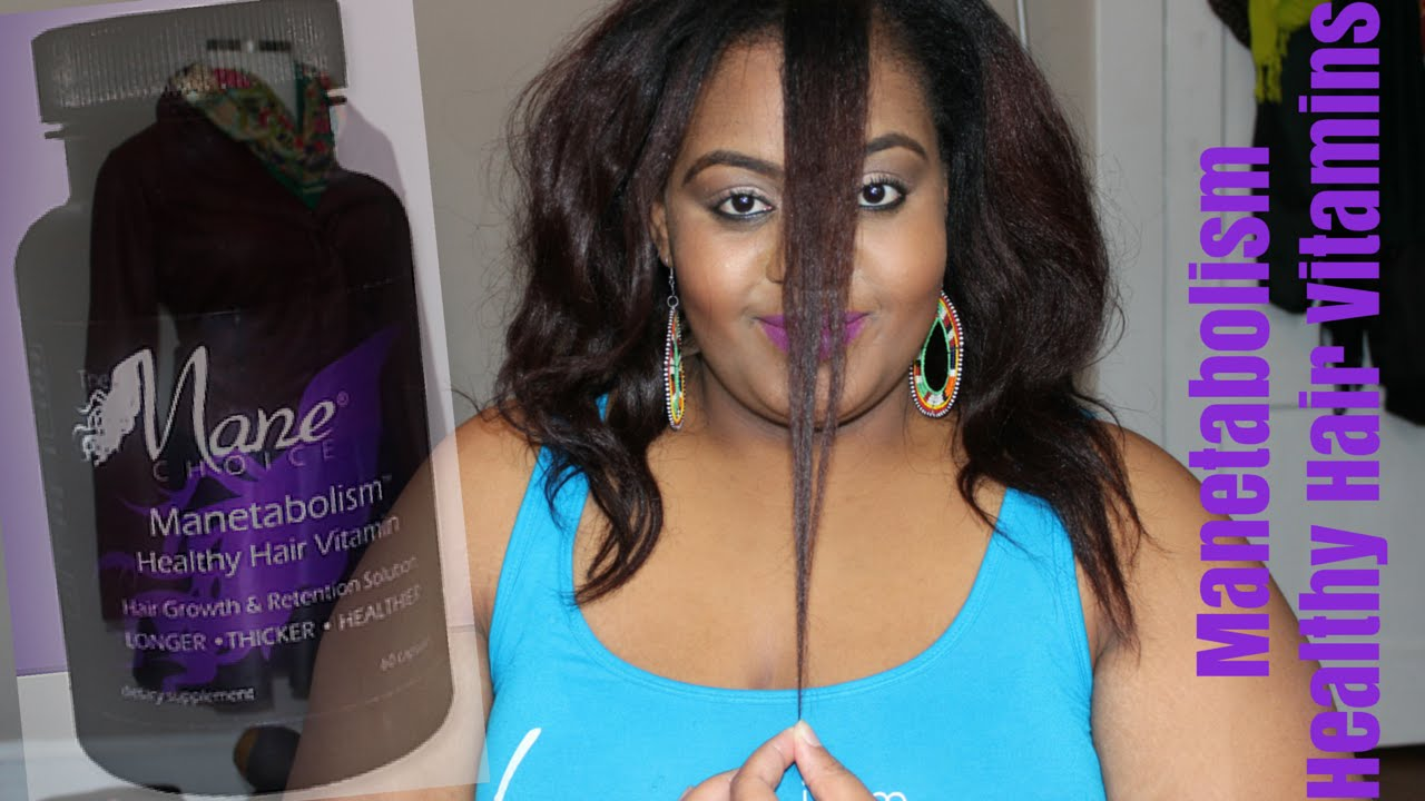 the mane choice manetabolism healthy hair vitamins   breakage