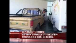 Persona de 41 años baleada mientras transitaba en una camioneta en calle Laurencena y Ramirez