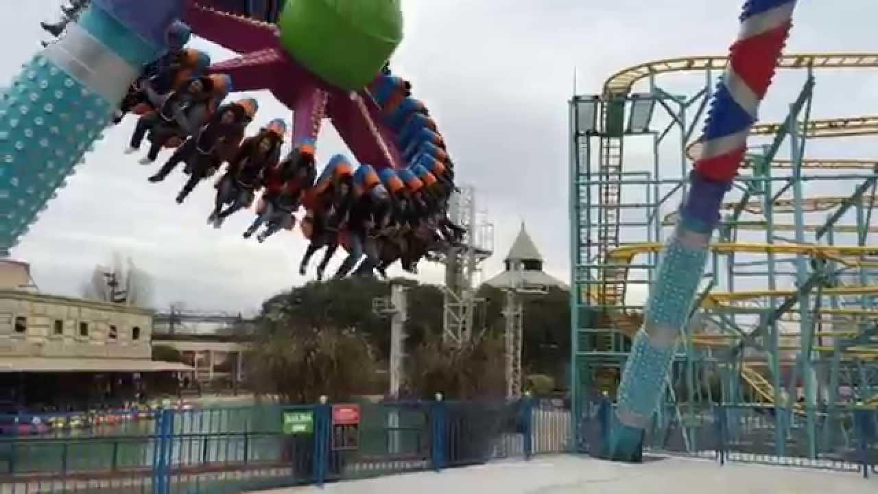 Pendulum parque de la costa youtube for Parque japones precio de entrada