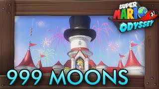 Super Mario Odyssey - What Happens If You Get 999 Moons?