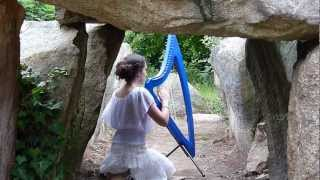 Evenstar (Evening Star) - The Lord of the Rings love song - harp / harpe