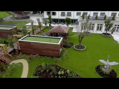 Video of Sereni-Tea Spa Day with Private Hot-Tub, Prosecco and Afternoon Tea for Two at the Luxurious Galgorm Spa & Golf Resort