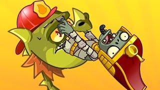 Plants vs. Zombies 2 - Zombiversary #5 (Snap Dragon POWER!)