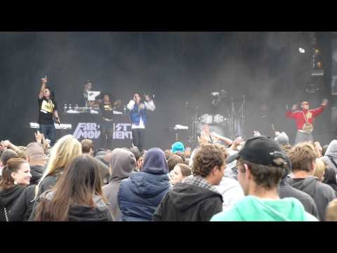 Far East Movement - Girls On The Dancefloor - Live @ Open Air Lumnezia 21.7.12