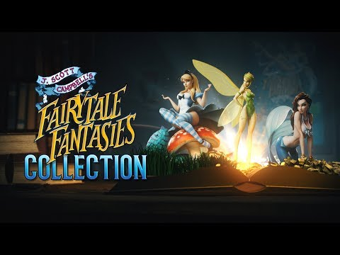 Inside Look: J. Scott Campbell's Fairytale Fantasies Collection