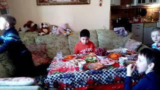 День рождения мальчика  7 лет. Ваня и его гости.