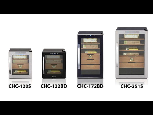 Whynter Cigar Humidors Featuring Model CHC-172BD