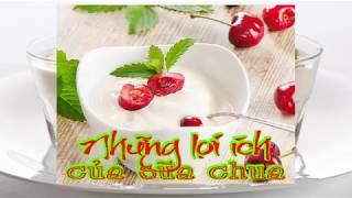 Những lợi ích của sữa chua
