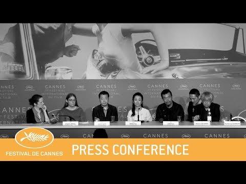 JIANG HU ER NV - Cannes 2018 - Press Conference - EV