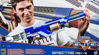 Nerf Spectra Rev-5 czyli Disruptor z dodatkami! :D