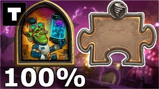 Hearthstone: The Puzzle Lab -  Board Clear | Dexter the Dendrologist 8/8