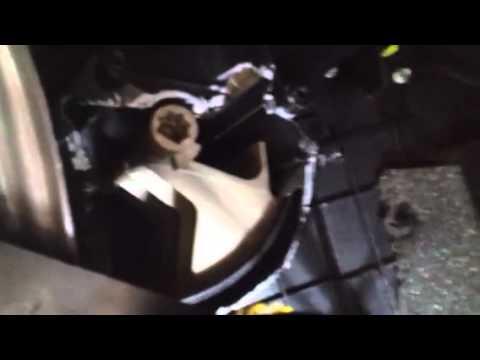 Peugeot 407 heater problem part 2 - YouTube