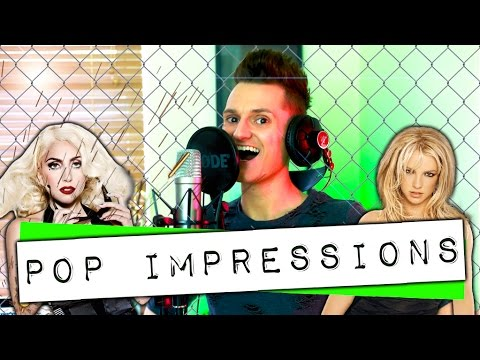Pop Impressions - Britney Spears, Shakira, Mariah Carey, Amy Winehouse, Lady Gaga: One Guy, 6 Voices