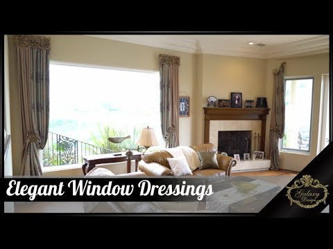 Elegant Window Dressings That Preserve Stunning Views | Galaxy Design Video #168