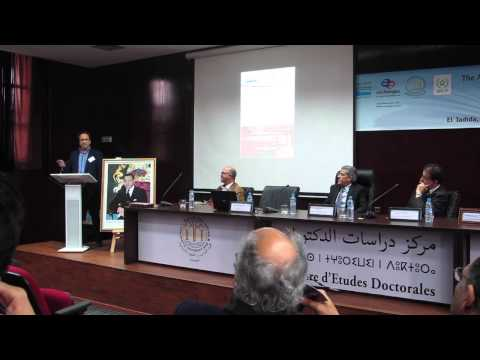 Anouar Majid Lectures in El Jadida, Morocco