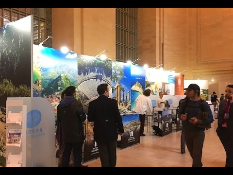 Greek Panorama in New York's Grand Central