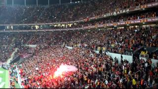 This is ultraslan ! crazy football fans ! galatasaray istanbul
