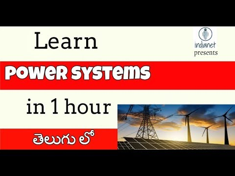 POWER SYSTEMS II All in one hour II indianet