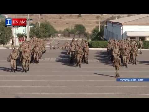 ԼՂՀ -ում հակառակորդին  հետ մղած զինծառայողները  պարգևատրվեցին